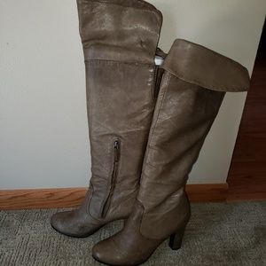 SE Boutique Leather Boots by Sam Edelman Designs